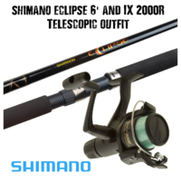 Shimano Eclipse 6' with IX Outfit