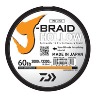 Daiwa J Braid Hollow 750m Orange
