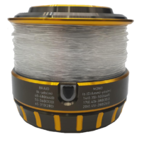 Reel Spooled with 50lb (22.7kg) Monofilament